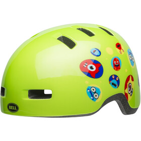 Bell Lil Ripper Helmet Barn green monster